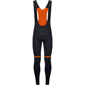 Etxeondo Kom Culotte Largo Tirantes Hombre, black/orange